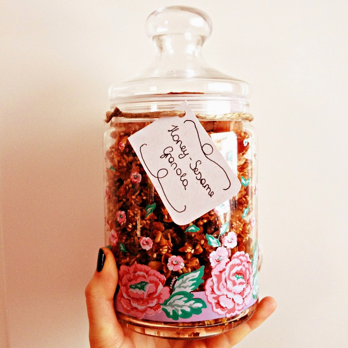 In love with…DIY sesamegranola