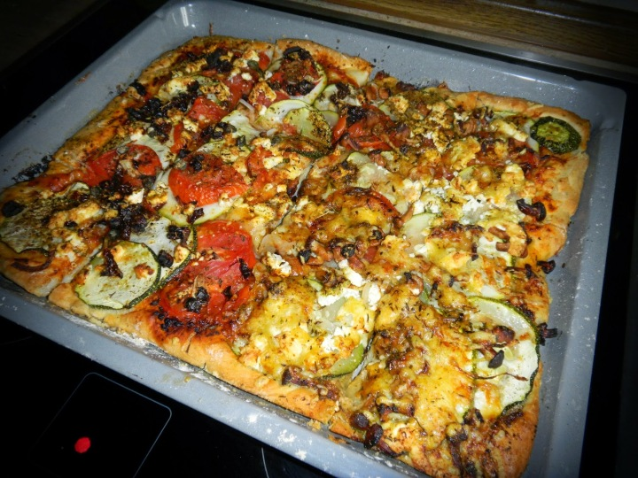 In love with…summer-veggie-pizza